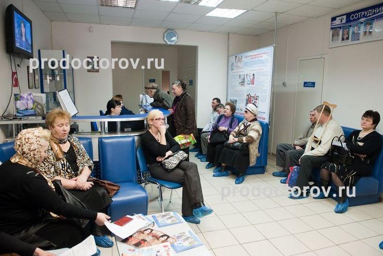 Поликлиника 109 текстильщики регистратура