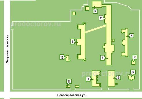 Фотографии больницы №60 Москвы