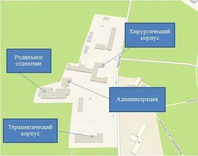 центральной больницы СО