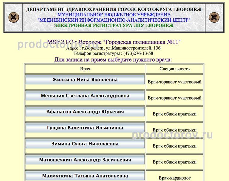Адрес: г. Воронеж, ул. Челюскинцев, д. 136. Остановка: Строительный универ