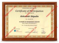 Шипулин А. А. - Academy of orthopedic surgery, Knee Surgery Workshop part 1, Warsaw