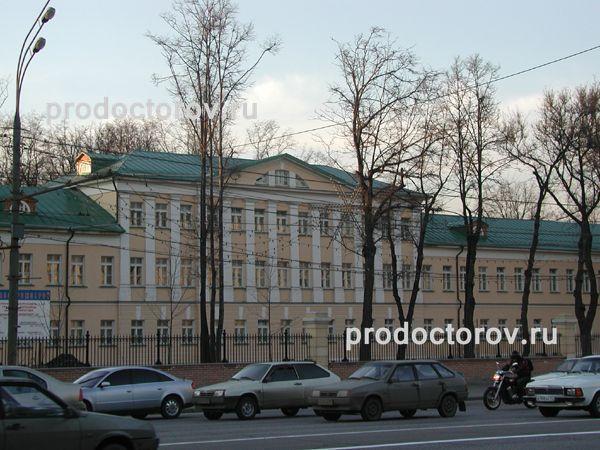 Больница 51 москва карта