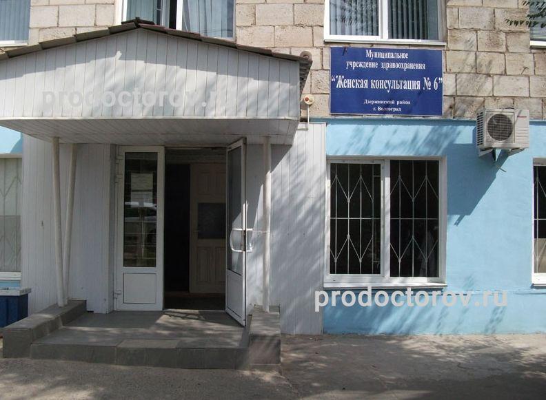 Центральная женская консультация волгоград врачи запись